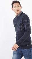 Esprit OUTLET cotton jumper with jacquard pattern