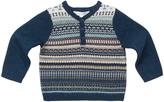 Marie Chantal Merino Fairisle Sweater - Baby