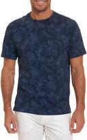 Robert Graham Rosemead Faded-Paisley T-Shirt, Blue
