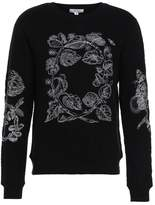 Soulland Damian Embroidery Jumper Off White