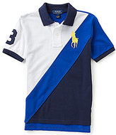Ralph Lauren Big Boys 8-20 Banner-Stripe Short-Sleeve Polo Shirt