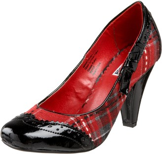 Not Rated Women's Addict Plaid Pump