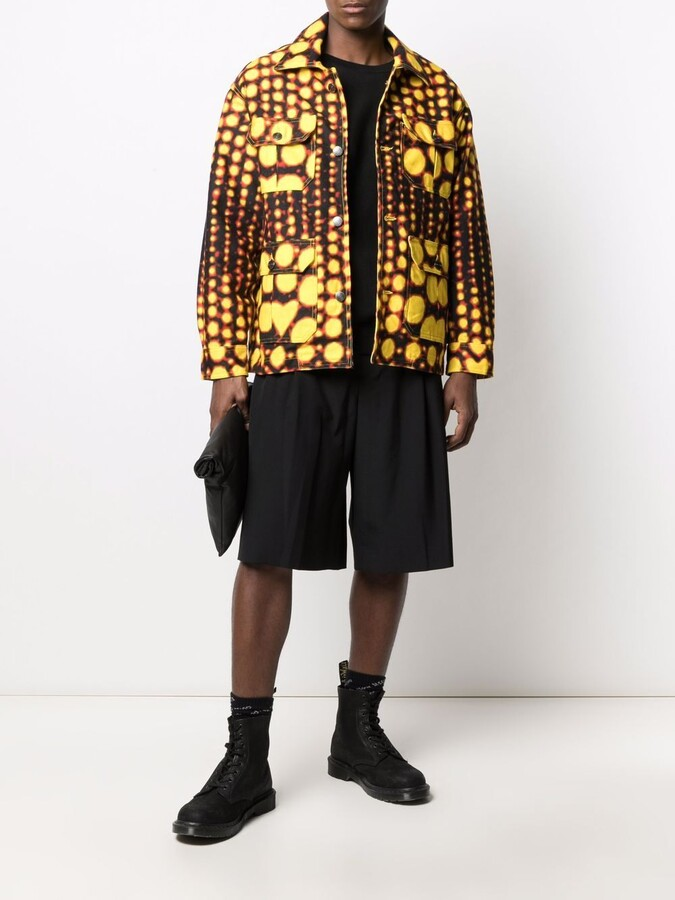 Thumbnail for your product : Charles Jeffrey Loverboy Printed Zip-Up Jacket