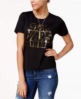 Star Wars Stars Wars Juniors' Metallic Graphic T-Shirt