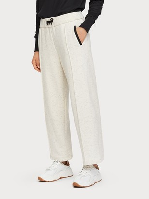 Scotch & Soda Cropped Wide Leg Sweatpants