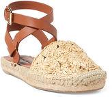Ralph Lauren Genina Crocheted Sandal