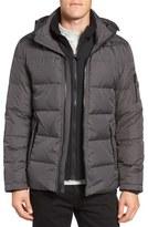 Michael Kors Vest Inset Quilted Jacket