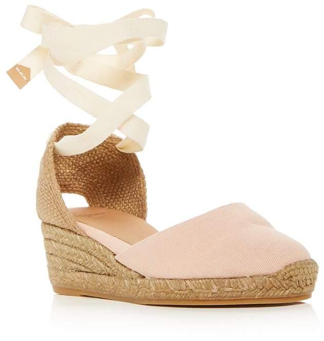 75c7401e7ec Women's Carina Ankle-Tie Espadrille Wedge Sandals