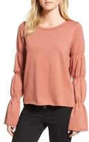 Hinge Women's Flare Cuff Sweatshirt