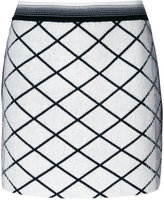 Missoni diamond patterned mini skirt - women - Nylon/Wool - 40