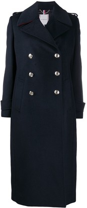 Tommy Hilfiger Double-Breasted Wool Coat