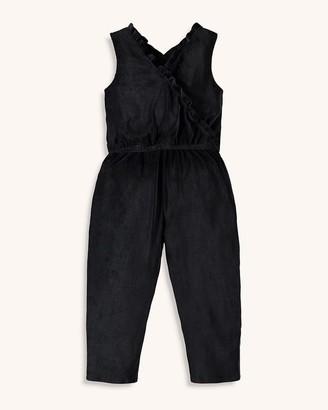 Splendid Girl Velour Cord Jumpsuit