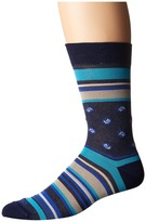 Etro Bold Striped Socks Men's Crew Cut Socks Shoes