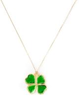 Aurelie Bidermann Mini Clover Dip Necklace