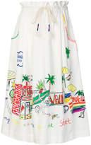 Mira Mikati Venice beach skirt