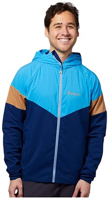 Cotopaxi Palmas Windshell (Blue Jay/Admiral) Men's Coat