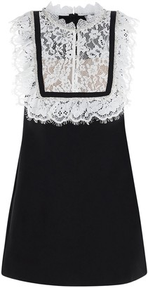 Self-Portrait Lace Embroidered Dress