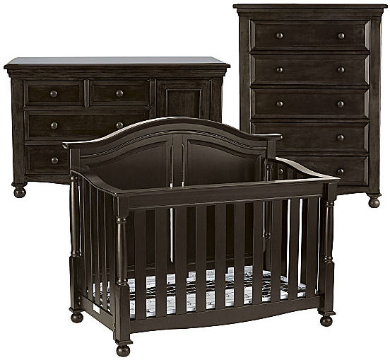 JCPenney Bedford Baby Monterey 3-pc. Baby Furniture Set - Chocolate