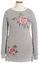 Ppla Girl's Dreamer Applique Sweatshirt Dress