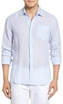 Vilebrequin Men's Regular Fit Linen Sport Shirt