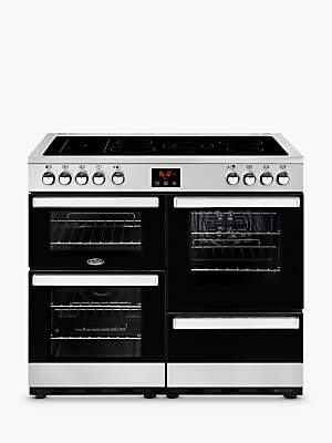 Belling Cookcentre 100E Electric Range Cooker with Ceramic Hob