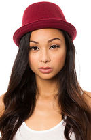 The Wool Mowbray Hat in Claret