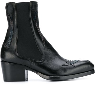 Rocco P. 50mm Pointed Toe Boots