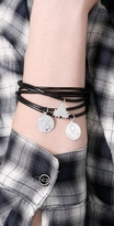 Jules Smith Black Bangles with Charms