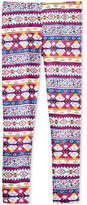 Epic Threads Mix and Match Geo-Print Leggings, Little Girls (4-6X), Created for Macy's