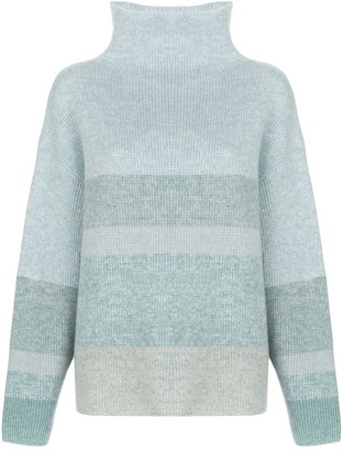 Le Kasha Kinsale Funnel-Neck Sweater