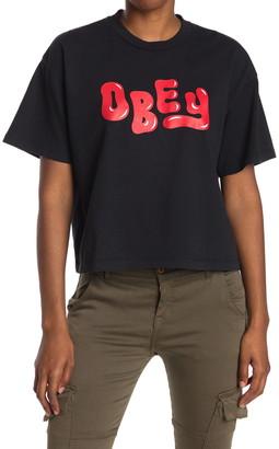 Obey Femme Short Sleeve T-Shirt