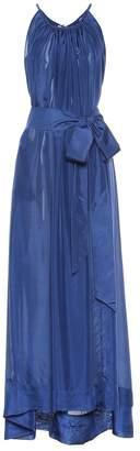 Kalita Genevieve silk maxi dress