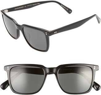 Oliver Peoples Lachman 50mm Polarized Sunglasses