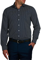 Geoffrey Beene Dot-Dot Print Slim Fit Shirt