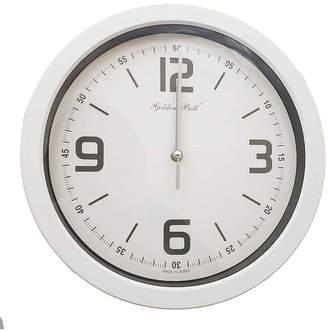 Golden Bell Silent Non-Ticking Wall Clock