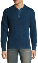 Faherty Waffle Henley Sweater