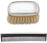 The Well Appointed House Reed & Barton Kent Pewter Boy's Brush & Comb Set