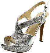 BCBGeneration Hasura2-X Women US 9 Silver Platform Sandal