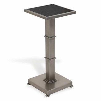 Port 68 Blake End Table Color: Gunmetal