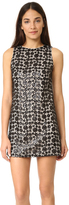 Alice + Olivia Clyde Sequin Shift Dress