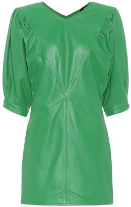 Isabel Marant Xadela leather minidress