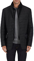 Piattelli MEN'S CHANNEL-QUILTED TECH-FABRIC JACKET