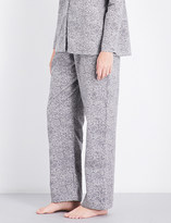 Hanro Straight cotton-jersey pyjama bottoms