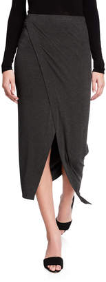 Majestic Filatures Asymmetric Drape Skirt