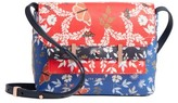 Ted Baker Gilda Kyoto Gardens Faux Leather Crossbody Bag - Blue