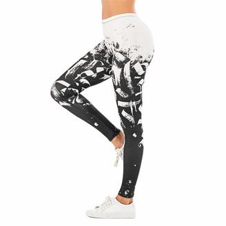 Kevents Women Sexy Leggings Fitness Fashion Slim High Waist Pants R0031UR22 One Size