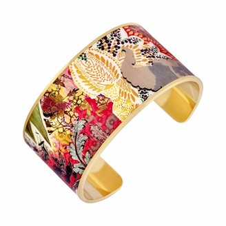 Christian Lacroix XF11026LD-S Women's Brass Bracelet with Gold-Plated Brilliance and Small Motifs