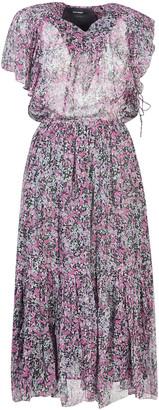 Isabel Marant High Waist Printed Long Dress