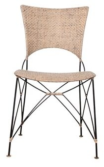 Bungalow Rose Birdwell Dining Chair Color: Gray