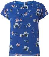 Vero Moda **Vero Moda Cobalt Floral Print Shell Top